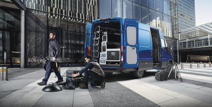 IVECO Daily Transporter mit hoher Ladekapazität